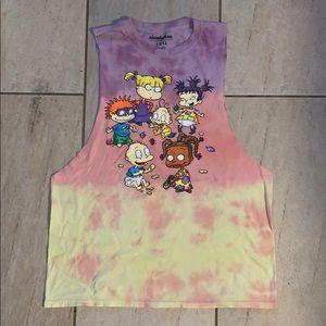 Nickelodeon Rugrats cut off shirt